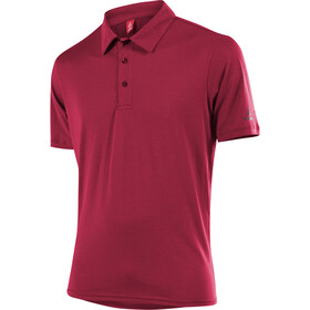 Löffler Transtex Single CF Poloshirt Herrer, maroon